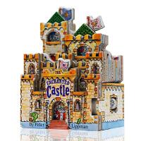 【满300-100】进口英文原版 Mini House 迷你城堡 The Enchanted Castle 睡美人 猫公