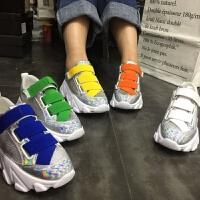 201905070126047462019春季新款厚底糖果色魔术贴女鞋潮韩版运动鞋休闲鞋女鞋