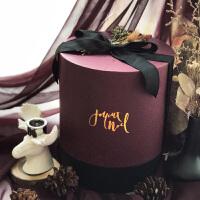 MAROON定制设计高端圆筒结婚礼盒伴手礼创意婚礼回礼个性精装礼品