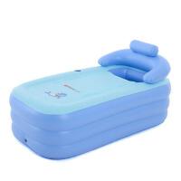 折叠浴桶泡澡桶成人浴盆充气浴缸厚塑料儿童洗澡桶沐浴桶