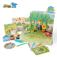 【当当自营】豚宝宝妙趣盒 我想当园丁 职业体验艺术彩泥礼盒装