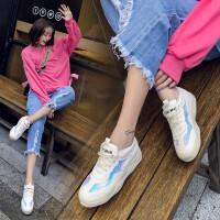 内增高女鞋2019春夏新款网红休闲鞋女韩版厚底百搭小白鞋女