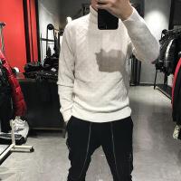 №【2019新款】冬天穿的衫男羊绒衫高领山羊绒秋冬加厚打底衫修身编织