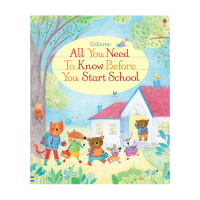 Usborne All You Need To Know Before You Start School 幼儿上学准备