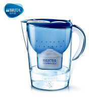 碧然德(BRITA)过滤净水器 家用滤水壶 净水壶 Marella 金典系列 3.5L(蓝色)阻垢款一壶一芯