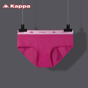 Kappa/卡帕女士内裤中腰莫代尔夏季薄款性感提臀透气三角内裤KP8K13