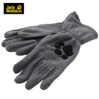 【大牌日!只要4.4折 到手价89】JackWolfskin狼爪户外徒步保暖舒适透气抓绒中性手套196156110