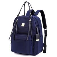 双肩包女电脑包学院风背包运动休闲旅行尼龙双肩背包校园学生书包