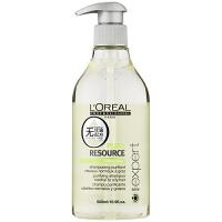 L'OREAL欧莱雅 油脂平衡洗发水洗发露500ml 进口专业洗护发 油性发质洗发乳去油控油