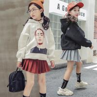女童裙子套装春秋装小女孩卫衣儿童装洋气两件套时髦