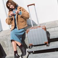 18寸拉杆箱万向轮16寸登机箱女行李箱男小型迷你旅行箱轻便密码 18寸