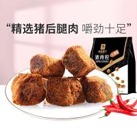 良品铺子猪肉粒XO酱特产零食风味小吃袋装98g