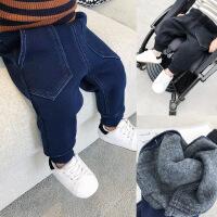 宝宝秋冬季牛仔裤男童休闲裤女婴儿打底裤儿童装