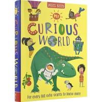 Miles Kelly My Curious World 好奇问与答绘本 大合集 简明易懂 画风奇特 6岁+ 课外读物