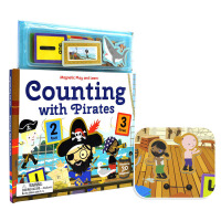 Magnetic Play and Learn Counting with Pirates 磁贴幼儿英语启蒙系列 和海