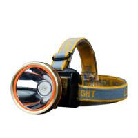 头灯强光充电超亮头戴式矿灯夜钓钓鱼灯户外远射防水手电筒