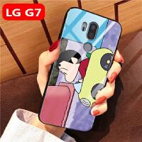 LG G7手机壳玻璃全包边lg g7个性时尚lg g7thinq保护套软硅胶防摔lg g LG G7-汽车小新