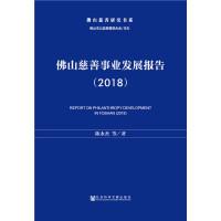 佛山慈善事业发展报告(2018)