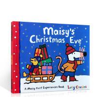 支持毛毛虫点读笔:Maisy's christmas eve 小鼠波波的平安夜 廖彩杏推荐英文原版故事绘本童书 轻松培