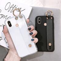 小米max3pro手机壳max2创意腕带note透明软套note3/note2