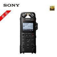 Sony索尼专业数码录音笔PCM-D10 16GB 黑色 数字降噪Hifi无损播放 大直径三向双麦克风