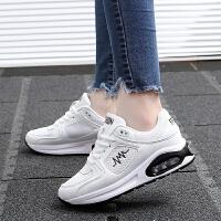 货到付款 春夏季女士运动鞋韩版潮学生跑步鞋女白色轻便平底鞋小白鞋气垫鞋女单鞋