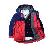 童装男童秋冬装加绒儿童宝宝防风夹克外套