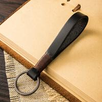 简约手工钥匙扣挂件创意个性汽车钥匙链圈环男女情侣锁匙扣