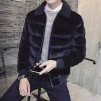 冬季男士棉衣韩版短款棉袄冬装袄子加厚羊羔毛羽绒棉外套潮流