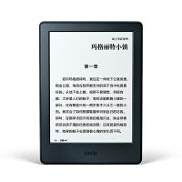 Kindle亚马逊电子书阅读器电纸书 入门版 黑