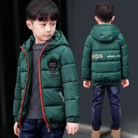 童装男童短款棉衣冬装儿童中大童袄外套休闲