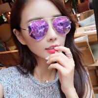 墨镜女潮 眼镜时尚偏光太阳镜女士圆脸复古眼镜 支持礼品卡支付