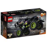 LEGO乐高积木机械组Technic系列42118Monster Jam Grave Digger车