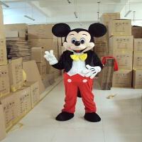 动物玩偶公仔衣服米奇米妮米老鼠穿人行走服卡通人偶道具服装 均码