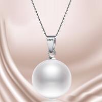 S925纯银简约珍珠项链
