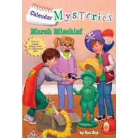 英文原版 日历神秘案件3 儿童章节读物 A to Z 作者 Calendar Mysteries: March Mis