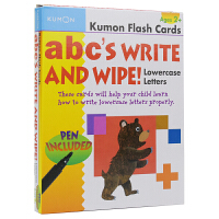 Kumon Flash Cards abc's Write And Wipe Lowercase Letters Ag
