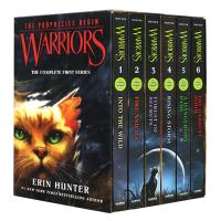 猫武士一部曲1-6册盒装英文原版小说 Warriors Box Set Volumes 1 to 6 英版沈石溪 中小学