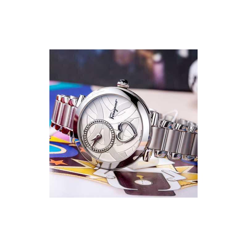 【迪丽热巴同款系列】 菲拉格慕Ferragamo-Cuore Ferragamo系列-FE206  0016石英女表 迪丽热巴同款心动系列2月9-12日情人节活动专享买一对再享9折优惠