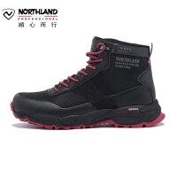 【顺心而行】诺诗兰19新款户外运动徒步休闲鞋女旅行透气中帮运动鞋FB082508