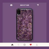 紫色X新款iPhoneXs Max手机壳个性滴胶苹果8plus/7P/XR/XS/6S潮牌全包防摔i 6/6s 姹紫嫣