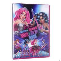原装正版 芭比公主之皇室摇滚 DVD 光盘 卡通动画电影 碟片 中英双语 少儿动画片