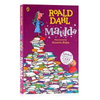 英文原版Roald Dahl:Matilda 玛蒂尔达 罗尔德达尔趣味青少年读物获奖文学小说