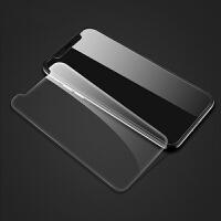 苹果iphone x钢化膜防爆屏幕高清透明手机壳贴膜 苹果 x钢化膜(透明非全屏)