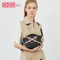 【立减100】aza女包手提包单肩包2019新款潮时尚韩版大气女士包包百搭斜挎包