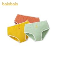 【1.27超品 2件6折:35.4】巴拉巴拉�妊�棉�|平角女童短�中大童小童�H�w可��3�l�b