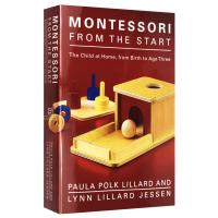 蒙台梭利早教 英文原版儿童家庭教育 Montessori from the Start 英文版育儿书籍 正版现货 Pau