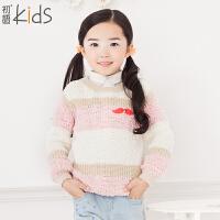 【书香节 每满200减100】初语童装冬装新款儿童毛衣长袖儿童针织衫T5404230023