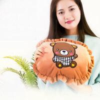 韩版可拆卸安全��宝宝热水袋 充电式暖手宝防爆毛绒可爱女热水袋