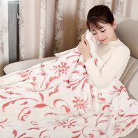 多功能大尺寸电热护膝毯暖身毯子 办公室宿舍神器插电加热发热法兰绒毯子